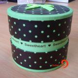 Printed Rigid Round Gift Box Paper Tube (HBBO-2)