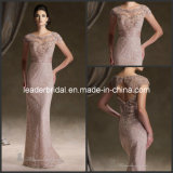 Lace Formal Dress Round Neck Mother Bride Evening Dress M1268