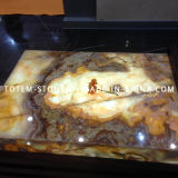 Cheap Onyx Stone Marble Slab for Kitchen Counter Top, Tile