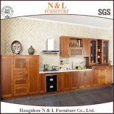 American Kitchen Furniture Solid Wood Kitchen Cabinet