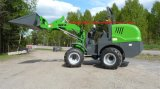 CE Mini Multi-Function Wheel Loader (HQ910) with Light Bucket
