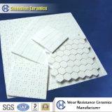 Industry Ceramic Manufacturer Offer Alumina Ceramic Hex Tile Liner on Nylone Net