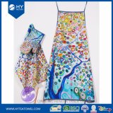 Custom Design Digital Printed Cotton Cooking Kitchen Apron