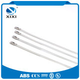 Ball Lock Uncoated Stainless Steel Cable Zip Tie