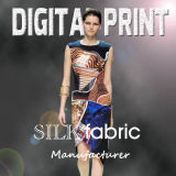 High Quality Digital Textile Printing for Lady′s Fashion Wear
