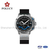 Sport Silicone Band Fashion Men Watch with Chnorograph Movement