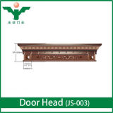 High End Villas Main Entrance Door King Style Zinc Alloy Door Header