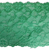 Elastic Lace Trim Fresh Green Stretch Lace 15 Cm Wide