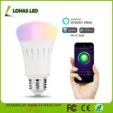 Home Lighting Works with Amazon Alexa/Voice Alexa 9W RGB Smart LED Bulb WiFi LED Light Bulb