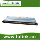 CAT6 UTP/FTP 24 Port Patch Panel with Krone End