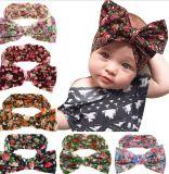 Baby Girl Bowknot Turban Headband Head Wrap Knotted Hair Band