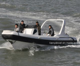 Liya 7.5m Military Inflatable Boat with Motor Rigid Inflatable Boat Sale