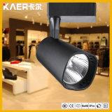 Black 12W LED Track Spot Light