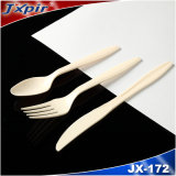 Disposable Plastic Cutlery Pack, Plastic Spoon Fork and Knife, OEM Packaging