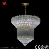 Modern Golden Crystal Chandelier with Glass Decoration Wl-82177