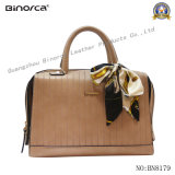 Professional OEM New Fashion PU Tote for Lady Handbag