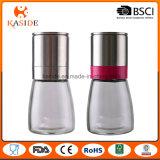 Stainless Steel Cap Mill Type Glass Bottle Spice Jar