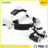 Headband 5.0X Binocular Dental Loupes Surgical Headlight