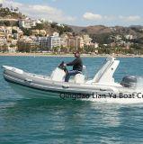 Liya 17FT China Rib Boats Rigid Inflatable Boats Ce Approved