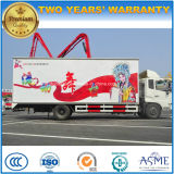 Hot Sale Dongfeng 50 Square Meters Mobile LED Stage Performance Truck