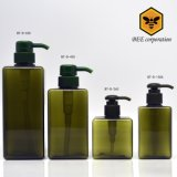 High Quality Square Shampoo Pump Plastic Bottle (BT-D-450)
