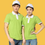 Embroidery Polo Shirts with Custom Label