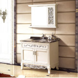 Solid Wood Bathroom Vanity Cabinet (13023)