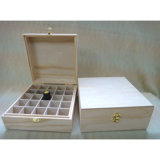 Fashion Handmade Natural Color Wooden Perfume Box