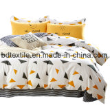 New Design Brushed Polyester Microfiber Printed Bed Sheet Fabric