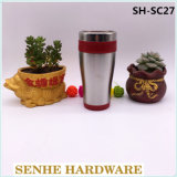 450ml Double Wall Auto Seal Coffee Cup (SH-SC27)