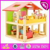 Cheap Kids Wooden Doll House Furniture, Attractive in Price and Quality Wooden Doll House Furniture W06A120