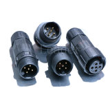 4 Pin Field Assembly Style Wiring LED Waterproof Connector