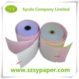 63GSM Carbonless Paper NCR Paper Rolls 76mm