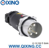Qixing Large AMP Plug & Socket 200A 4p 380V-690V 6h