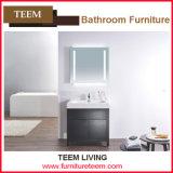 New Style Floor Standing Double Sinks Wooden Bathroom Cabinet