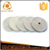 5 Steps Diamond White Flexible Resin Wet Polishing Pads