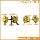 Souvenir Metal Pin Badge with Gold Plated (YB-p-030)