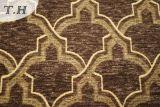 Gemotric Design Sofa Fabric Upholstery Chenille Fabric