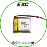 652020 3.7V 180mAh Li-ion Polymet Battery