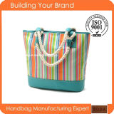 Promotional Canvas Designer Fashion Tote Bag