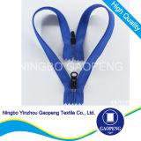 Nylon Zipper Double Way Double Close End for Clothing/Garment/Shoes/Bag/Case