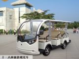 Chinese Manufacture Electric Sightseeing Buggy for 11 People