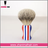 Private Label 100% Badger Hair New Type Resin Handle Shave Brush