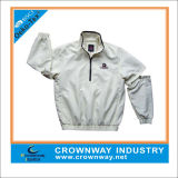 Fashion Mens Waterproof Golf Jacket with Adjustable Sleeves