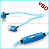 High Quality Metalic LED Light Earphones, Glowing Headphone, EL Headphone