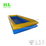 Mix Blue and Yellow Color Inflatable Water Pool