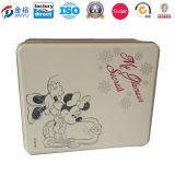 Printed Cosmetic Perfume Folding Rigig Packaging Gift Box Tin Can