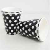 High Quality Party Paper Cups Black Dots Compostable