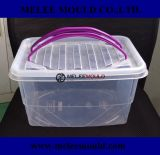 High Quality Clear Portable Storage Container Moulding