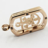 High Quality Stainless Steel Locket Pendant with Plates